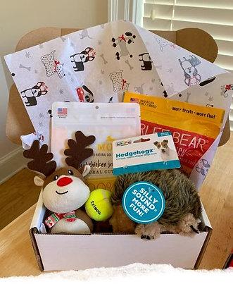 Santa Paws Small Dog Gift Box