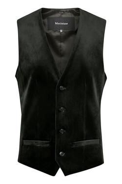 Matinique - Black Logan Waistcoat