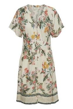 Jeanetta Cream Dress
