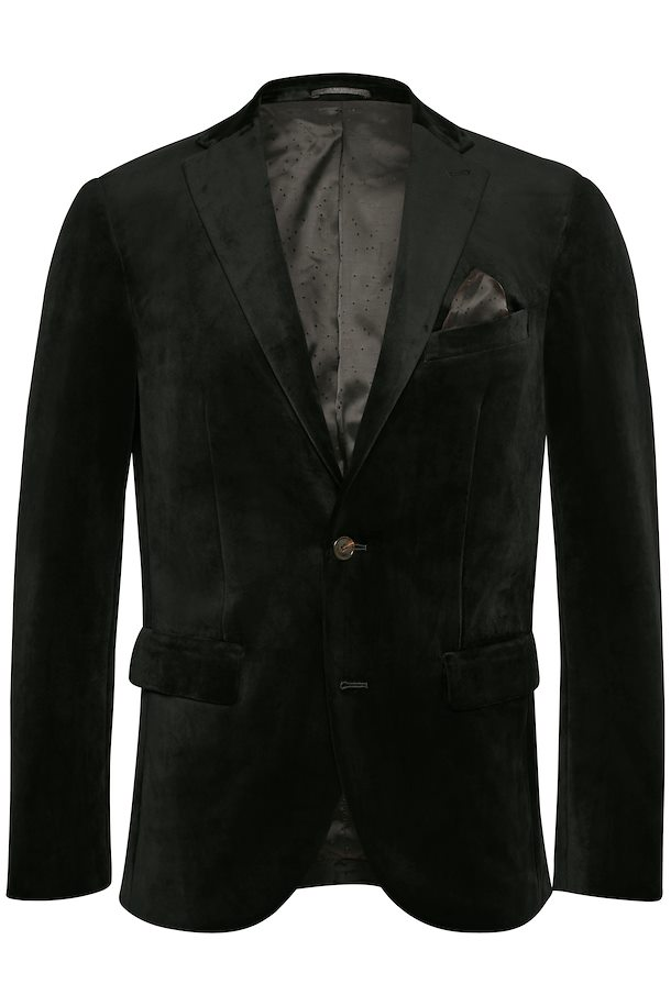 Matinique - Black Velvet Blazer