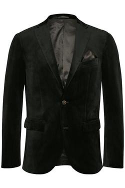 Matinique - Black Velvet Blazer