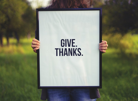 Gratitude: the Journey and the Destination