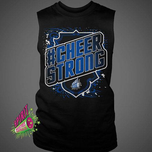 """""""CHEER STRONG"""" Muscle T"""