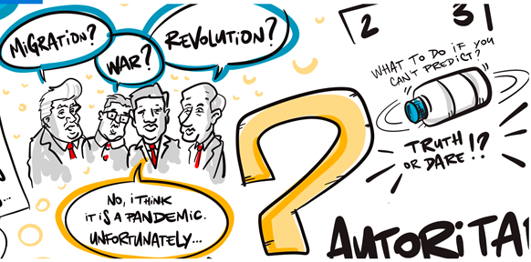 Graphic Recording Covid Pandemic Autorit