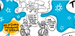Graphic Recording Covid Pandemic System