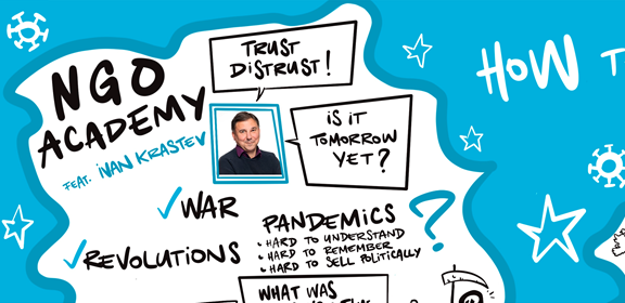 Graphic Recording Covid Pandemic Keynote