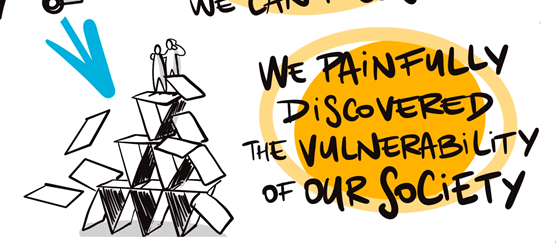 Graphic Recording Covid Pandemic Vulnera