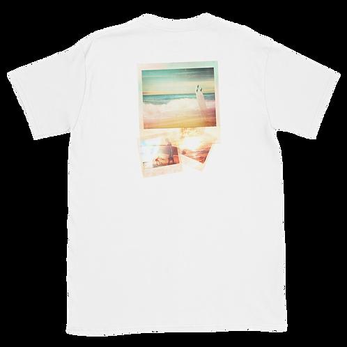 OFFSITE BEACH POLAROID Gildan 64000 Unisex Softstyle T-Shirt