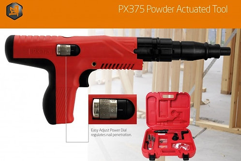 PX375 POWDER ACTUATED TOOL