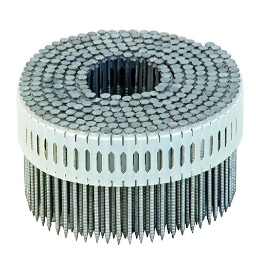 Melbourne Nails 45mm Zero Degree Galvanised Ring Shank Coil Nails