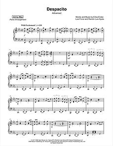 Despacito Sheet Music