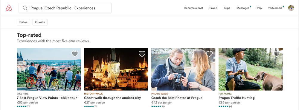 Airbnb providing unique experience how to explore new places
