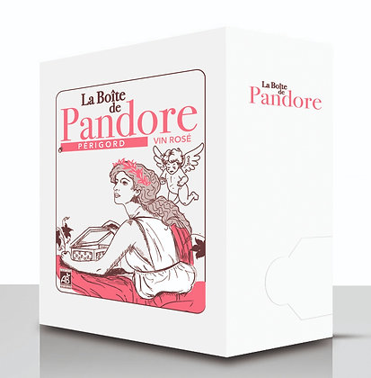 La Boîte de Pandore 5L Rosé