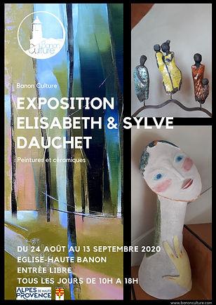 Affiche Expo Sylve & Elisabeth DAUCHET.p
