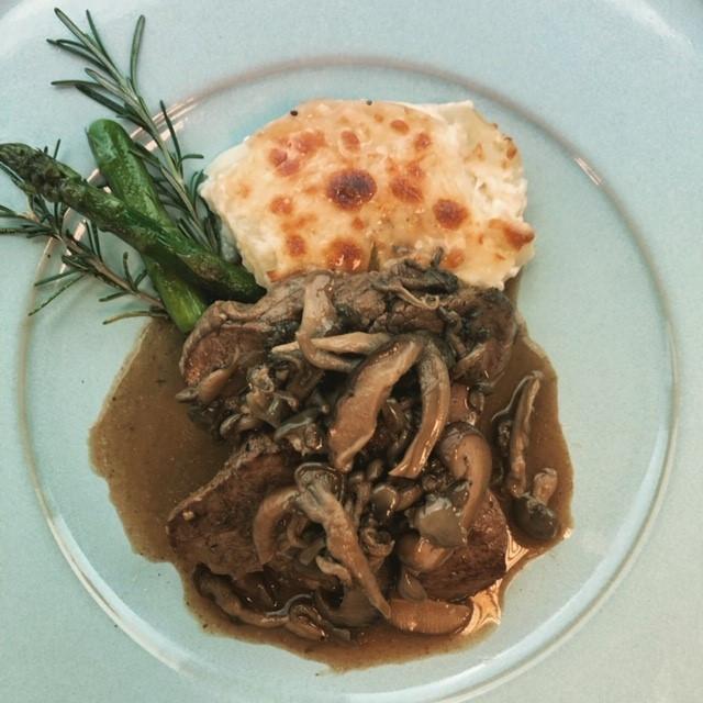 pratos Mazzo gastronomia em parceria com Down Service Buffet