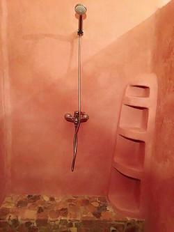 漆喰シャワールーム