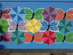 Mural : Umbrellerflies
