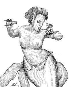 Crabby Mermaid