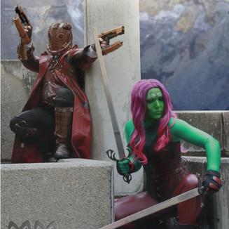Starlord & Gamora
