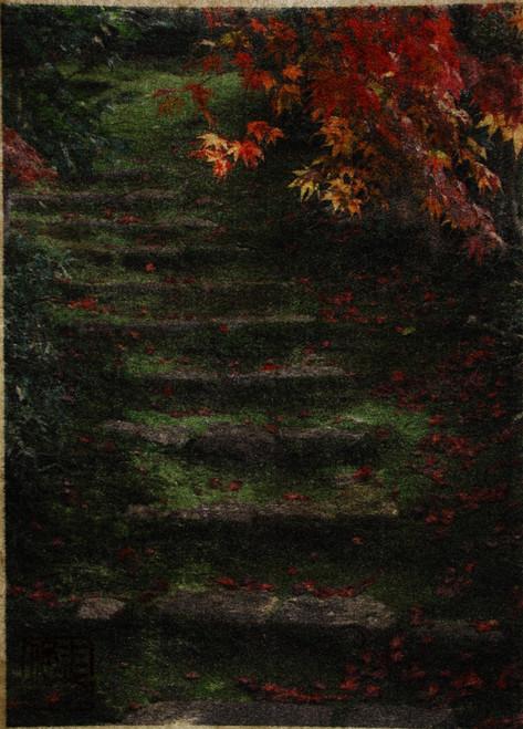 Stone steps,  Eishoin temple