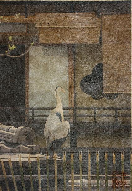 8.Heron on the roof, Gion.jpg.jpg