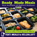 Easy as 1 2 3... Ready Made Meals