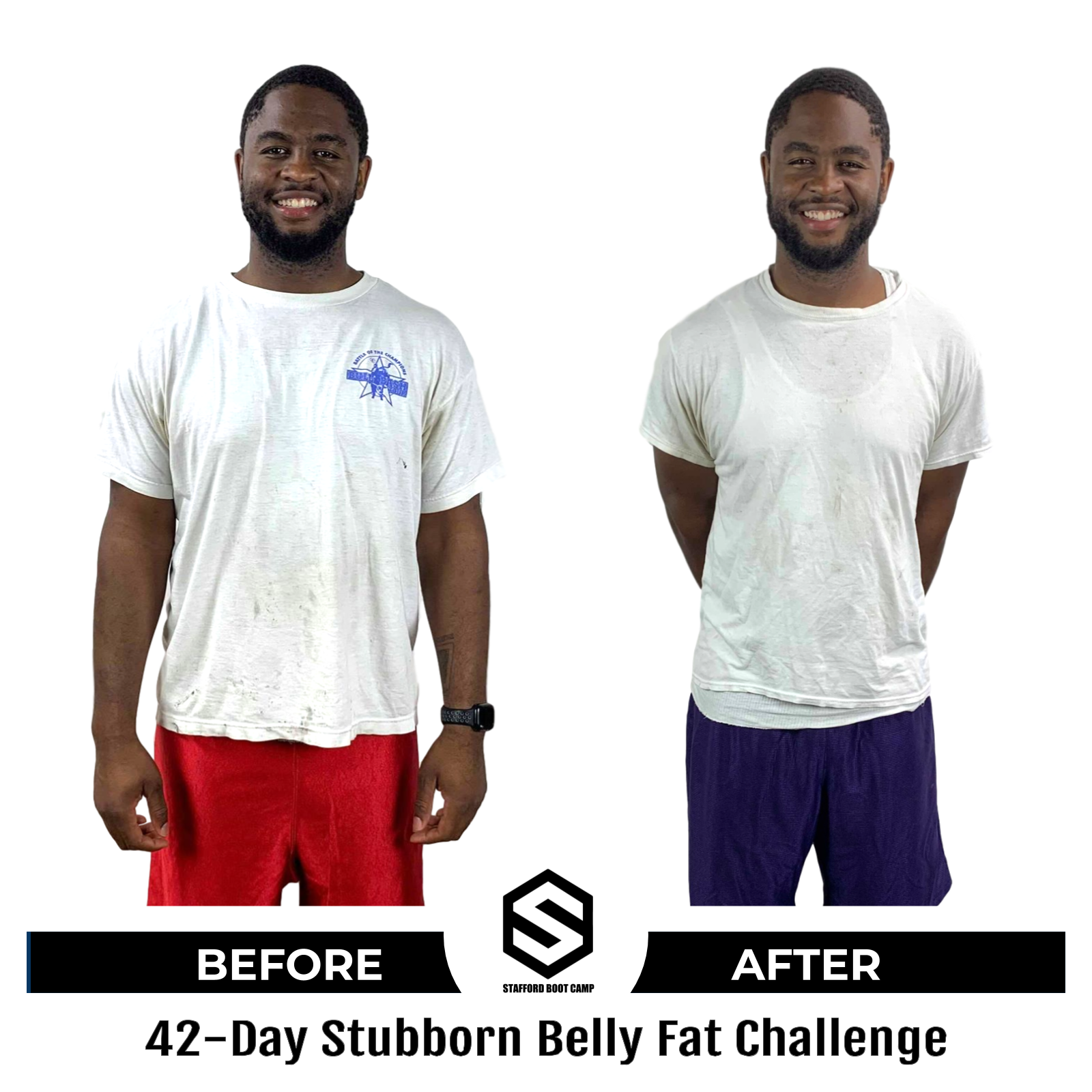 42 day challenge Before and After Master