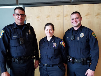 CIT Officers of the Year: Dudziak, Krieger, & Poe
