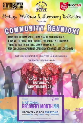 NAMI Walk & Recovery Celebration Set for Sept 25
