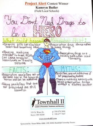 Drug Prevention Poster Winner
