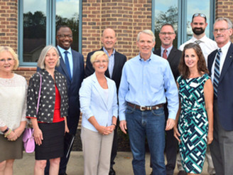 Senator Portman Visits Portage County, Meets Board Members & Agencies