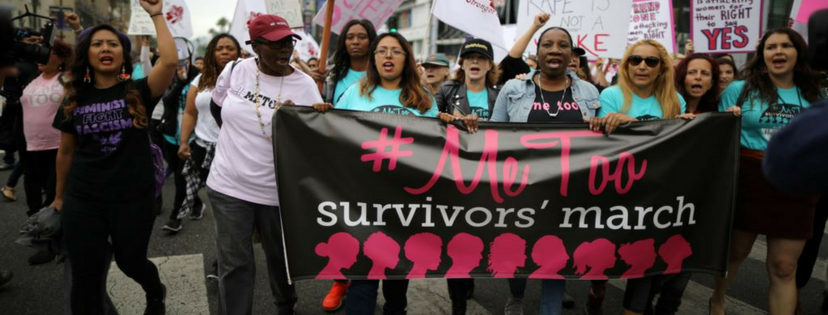 #MeToo survivors march