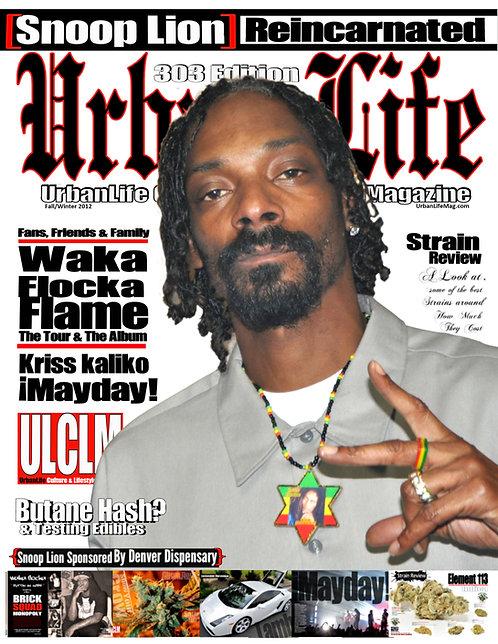 URBAN LIFE MAGAZINE / SNOOP DOGG ISSUE / COLLECTORS EDITION