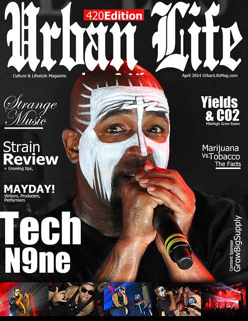 URBAN LIFE MAGAZINE / TECH N9NE ISSUE