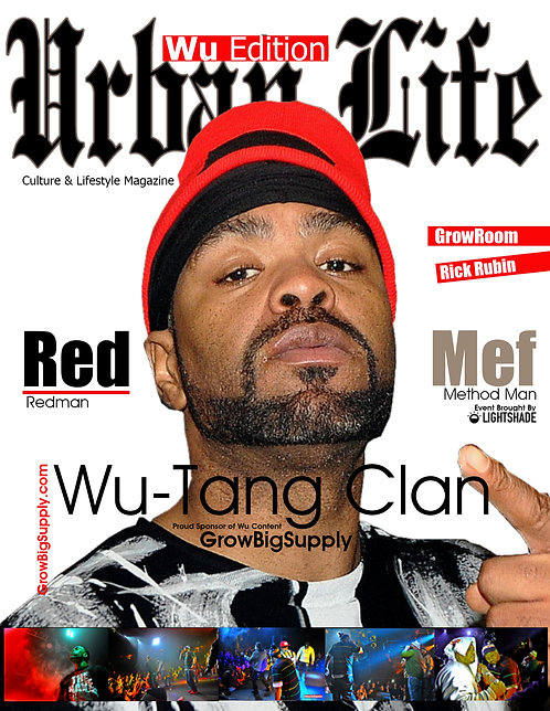URBAN LIFE MAGAZINE / WU TANG CLAN ISSUE / COLLECTORS EDITION