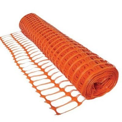 Orange Barrier Fencing 50m x 1m