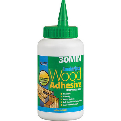 Everbuild Polyurethane Wood Adhesive Liquid 30 minutes 750ml