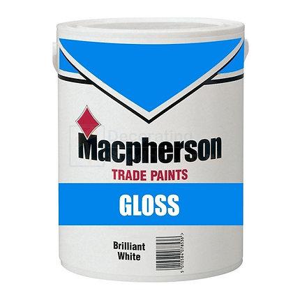 Macpherson Full Gloss Paint Magnolia 1L