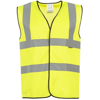 Yellow High Visibility Vest Size L