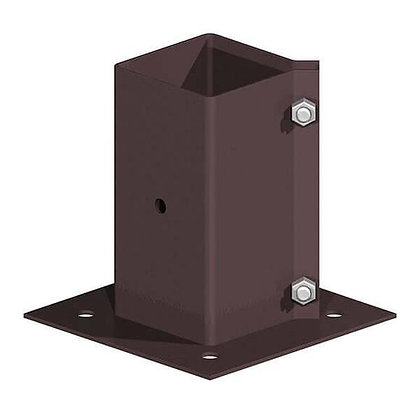 Fencemate Bolt Down Fence Post Holders Swift Clamp 75mm x 75mm