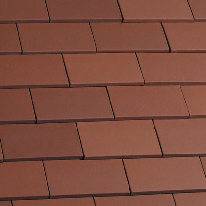 Marley Eternit Acme Single Camber Clay Tile Natural Red 265mm x 165mm