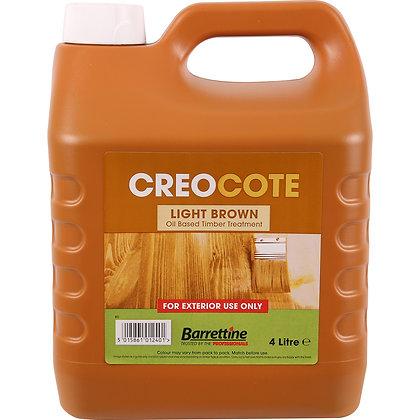 Barrettine Creocote Oil Based Timber Treatment 4L Light