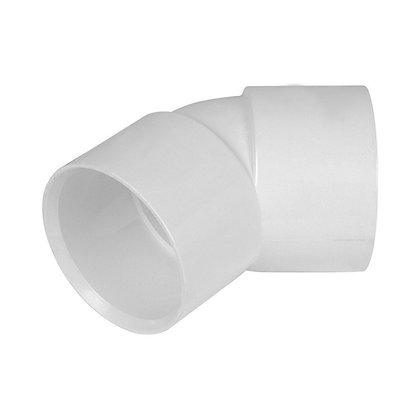 Solvent Weld 45deg Obtuse Bend White 32mm
