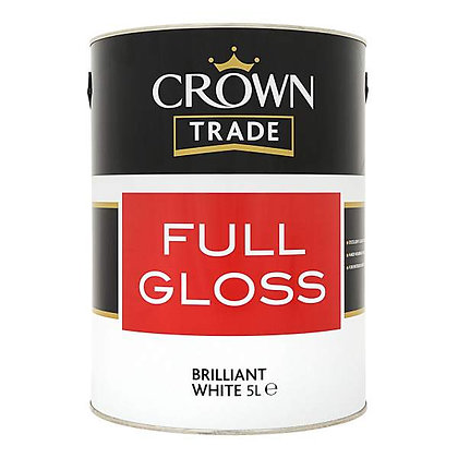Crown Trade Full Gloss Black 1L