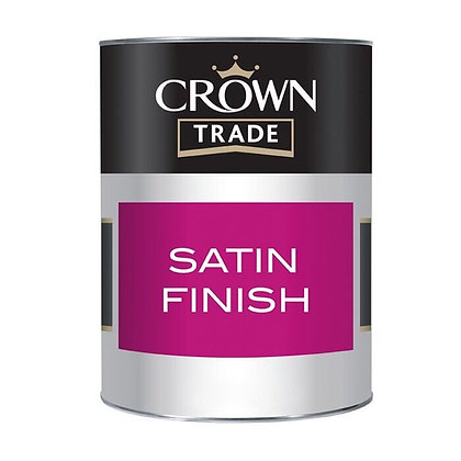 Crown Trade Satin Finish White 2.5L
