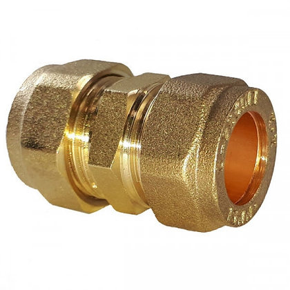 Compression Fit Straight Coupling 22mm