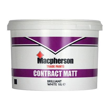 Macpherson Contract Matt Paint Magnolia 10L