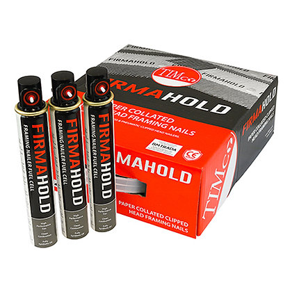 FirmaHold Collated Clipped Head Nails & Fuel Cells 75mm x 3.1mm