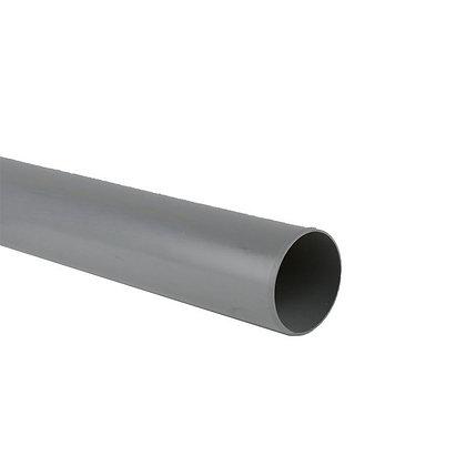 Pushfit Waste Pipe Grey 40mm x 3m