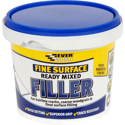 Everbuild Fine Surface Ready Mixed Filler 600g